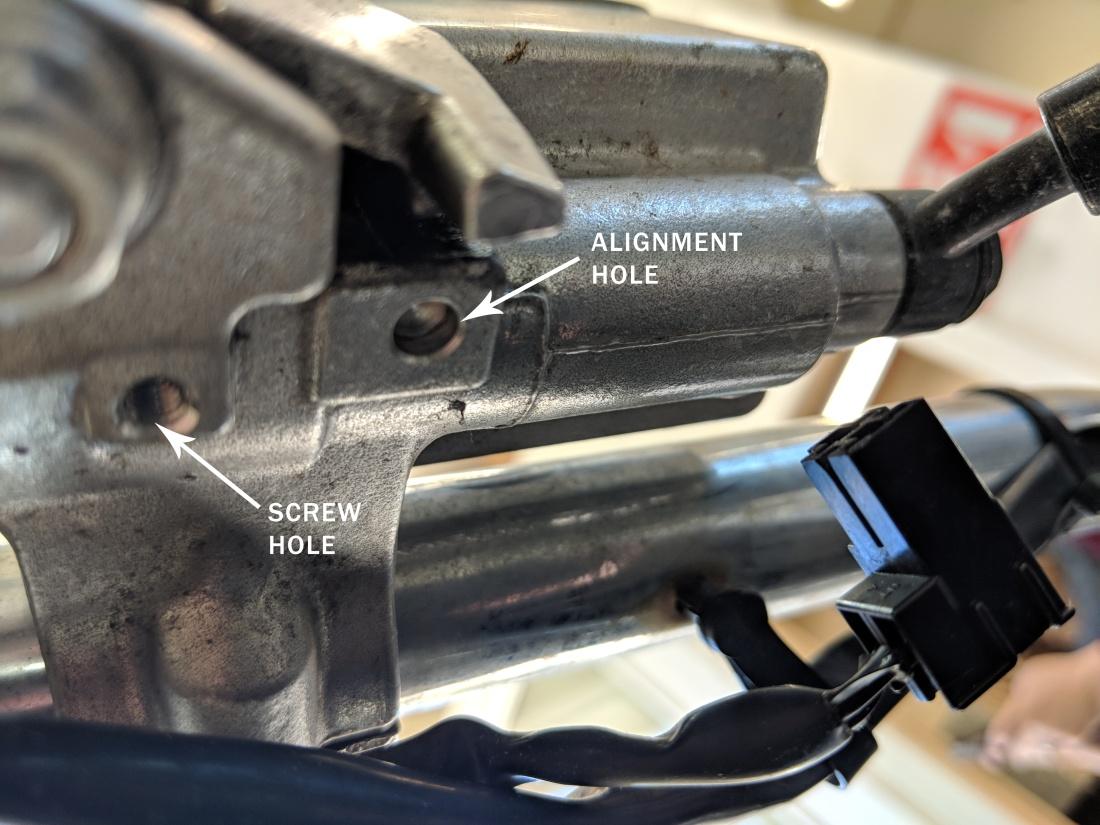 vulcan front brake light switch removed