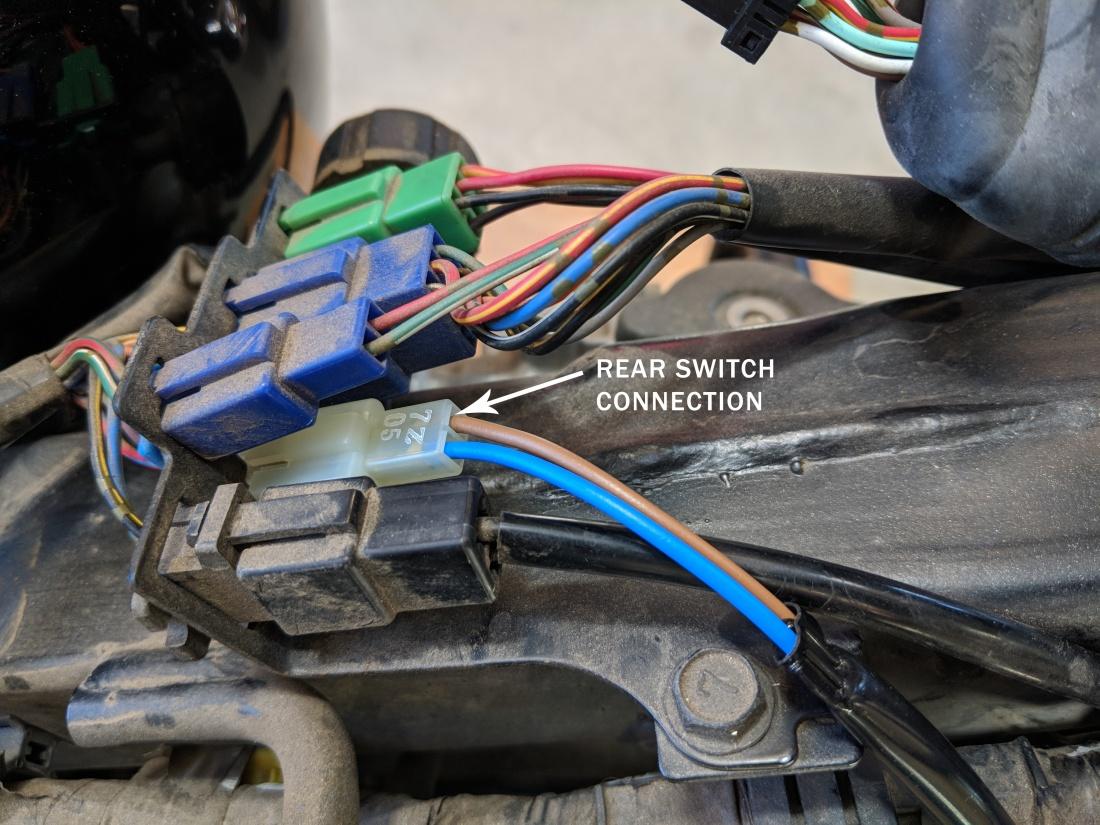 vulcan rear brake switch connector