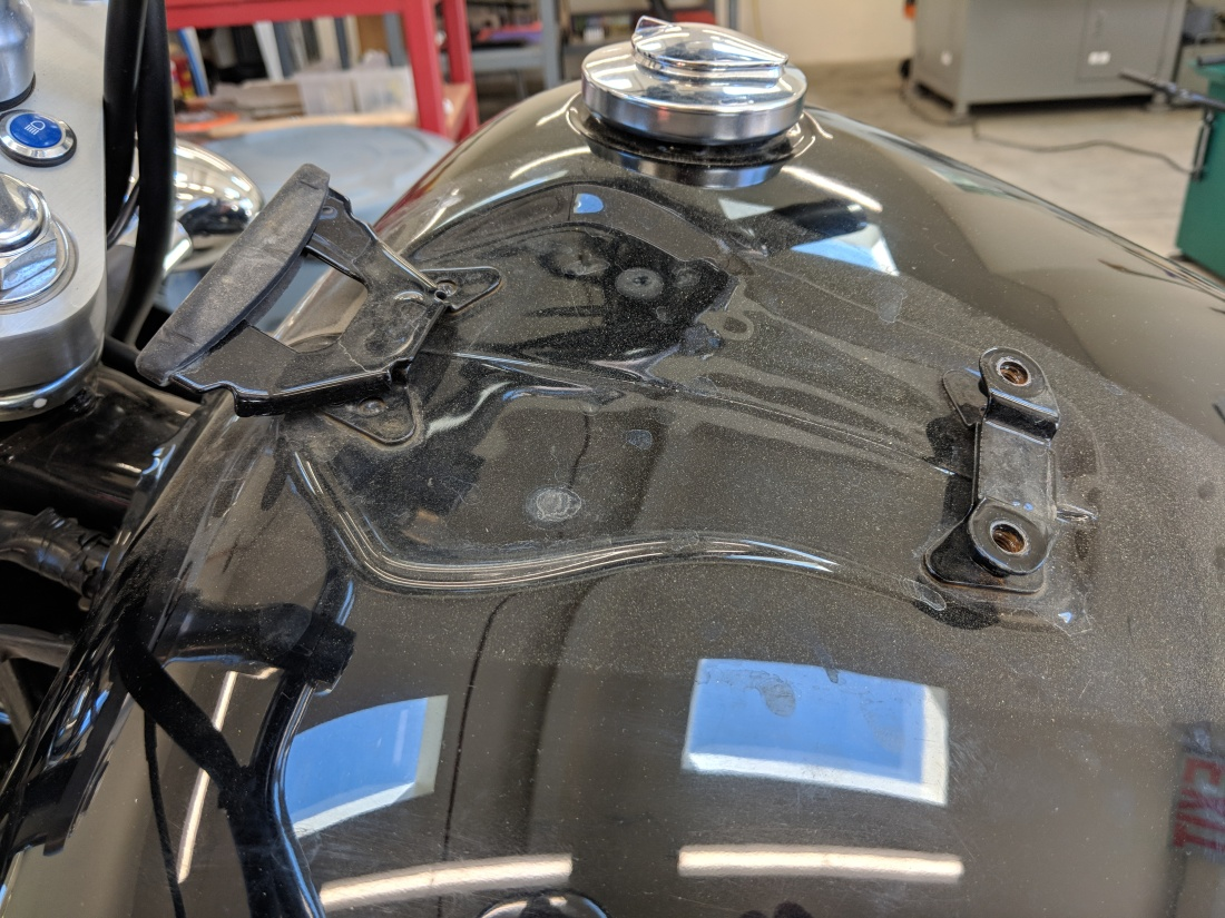 vt750 instrument panel mounts